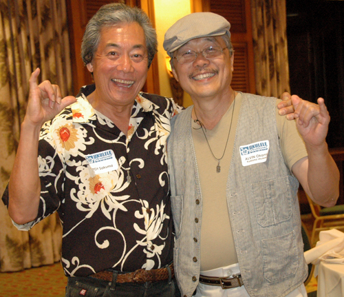 Roy Sakuma and Alvin Okami