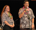 Amy With Honolulu Mayor Mufi Hannemann