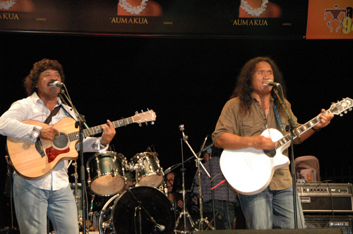 Cecilio and Kapono